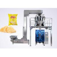 Quality Puffed Food VFFS Packaging Machine for Potato Chips with Electronic Multi-head Weigher wholesale