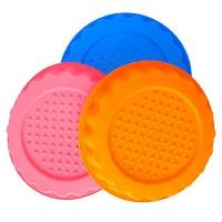 Quality round  shape silicone tray mold ,customized  silicone cake  mold ,flower silicon cake mold wholesale