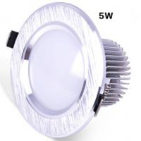 Quality 5W Dimmable Led Downlight 90lm / w  Ra 85 CE With 3 Years Warranty wholesale