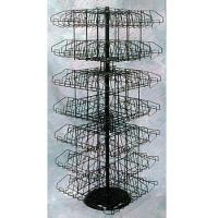 Quality Hanging Clip Rack w/Basket for Cross Merchandising wholesale