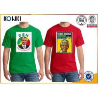 Quality OEM Election Campaign Custom T Shirt 100% Cotton For Election Advertising wholesale