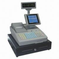 Cheap Embedded POS Cash Register, 64 Raised Keyboard Style, Programmable Keyboard for sale