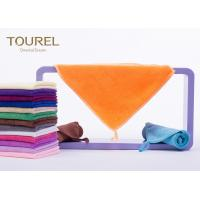 Quality Cut Pile Cotton Bath And Face Towels Customised Durable 35x35 wholesale