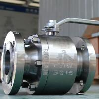 Forged Steel 2-pc Ball Valve Class 150-1500 Floating Ball Flanged
