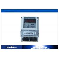 Quality Card Prepayment Electric Energy Meter , Surge Protection Wireless Power Meter wholesale