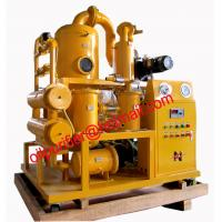 China Mobile Double Stages Vacuum Transformer Oil Purifier System, transformer oil purification equipment on sale