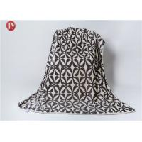 Quality Polyester Printed Flannel Super Soft Plush Fleece Bed Blanket , Custom Polyester Blanket Various Colors wholesale