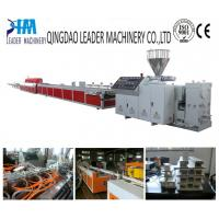 China pvc/upvc window and door profile extrusion line on sale