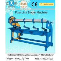 Quality Adjustment Carton Box Making Machine 1.5kw with Four Links Slotter , 3000mm Width wholesale