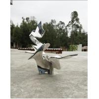 Quality Customized Metal Statue Modern Abstract Sculpture Outdoor For Decoration wholesale