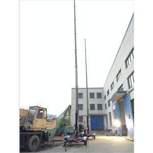 Quality telecommunication antenna mast trailer wholesale