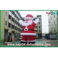 China Outdoor Giant Inflatable Holiday Decorations Inflatables Santa Claus For Chrismas on sale