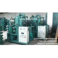 Quality Vacuum HV oil purifier | High voltage oil filtering machine | Insualtion Oil Processing wholesale
