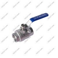 Quality High quality 2 pcs female thread flat lever handle cf8m stainless steel ball valve wholesale