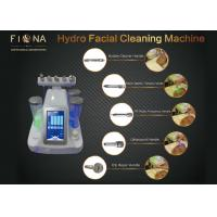 Quality Face Cleaning Portable Hydrafacial Machine Galvanic / Ultrasonic Multi Polar RF Function wholesale