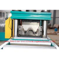 Quality 380V , 3 Phase 50Hz Two Wave Guardrail Roll Forming Machine for Highway Guardrails Export to Macedonia wholesale