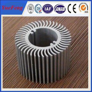 China Custom aluminium heatsink / 6000 series heat sinking circular aluminium profile on sale