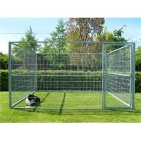 China Zinc Plating Movable Metal Dog Kennel Outside Dog Cages For Large Dogs on sale
