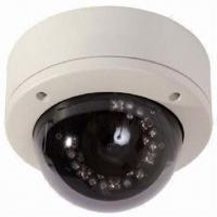 Quality Megapixel H.264 IP Camera with 30m Night Vision and Vandal-resistant Housing wholesale