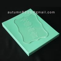 Quality B IC (2) special design acrylic wedding invitation card wholesale