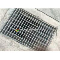Cheap Parking Lots Steel Grate Drain Cover High Strength Hot Dip Galvanizing for sale
