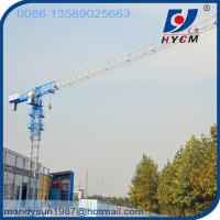 Quality 60m Freestanding Height QTP315(7030) Flattop Tower Crane with 70m Jib and 18ton Max. Load wholesale