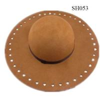 Quality women hats beautiful style and high quality SH053 ladies wool hat wholesale