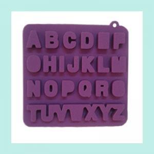 Quality alphabet silicone ice tray ,FDA ,LFGB silicone ice trays wholesale