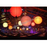 Quality Large Led Balloon Inflatable Event Decor With 16 Change Color For Wedding wholesale