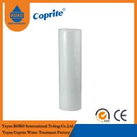 Quality 20B 1 / 5 Micron White PP Sediment Water Filter Cartridge For Water Filter wholesale