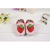 Quality cheap baby slipper cartoon leather soft sole Toddler slipper,baby shoes-3 wholesale