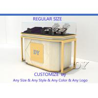 Cheap Lockable Retail Jewelry Store Jewelry Display Counter With OEM Logo for sale