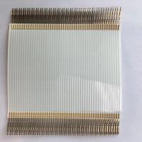 Quality Terminal Crimping Flexible Flat Cable , 1.27 Mm Pitch Ribbon Cable With TE Connector wholesale