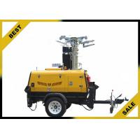 Quality 3420L 2800W Led Light Tower Ip23 Protection Grade Watercooled Diesel Engine wholesale