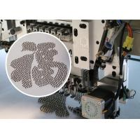 Quality High Performance Beads Embroidery Machine / 9 Needles Flat Embroidery Machine wholesale