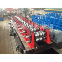 Quality Storage rack roll forming machine / Storage Uprights Forming Machine with 3 in 1 servo feeder wholesale