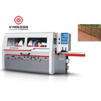 Quality High Efficiency 4 Sided Planer Moulder Heavy Duty Woodworking Machiene Power Saving wholesale