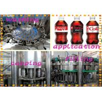 Buy cheap Gas Contained Cola Energy Drink Filling Machine With Low