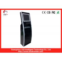 China 19 Bill Payment Kiosk With EMV Certified Motorized Magnetic And Smart Card Reader on sale