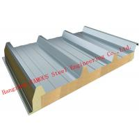 Quality Recycled Usage Fire Resistant Rock Wool Sandwich Panels Easy Installation Roof Systems wholesale