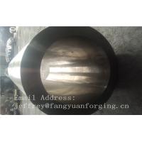Quality St52-3 forged steel rings Hot Rolled Sleeve Forged Cylinder 3000mm length wholesale