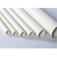 Hollow Spiral Hush Double Wall PVC Pipe Customized Length For House Drainage