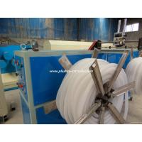 China PVC PP PE Single Wall Corrugated Plastic Pipe Production Line Extrusion Machinery on sale