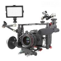 Quality DSLR Camera Cage with Standard 15mm Rod is work with Canon 5D Mark II, 7D  wholesale