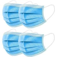 Quality Breathable 3 Ply Disposable Face Mask For Anti Droplet / Particulate / Bacteria wholesale