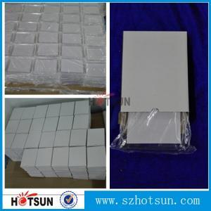 Cheap diamond polishing finish transparent acry pexiglass block cast 25mm clear solid acrylic cube block for sale