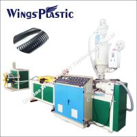 China Top Manufacturer For PVC Single Wall Corrugate Pipe Machine on sale