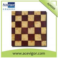 Quality Solid wood texture mosaic tiles for wall/background decoration wholesale