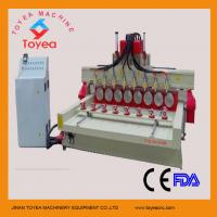 China DSP controlling 4 axis Wood cnc engraver machine TYE-2415-8R on sale