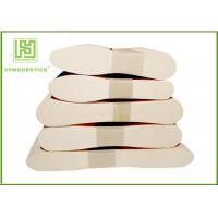 Quality Birch Wooden Ice Cream Sticks , Food Grade Wooden Eating Spoon Customized Shape wholesale